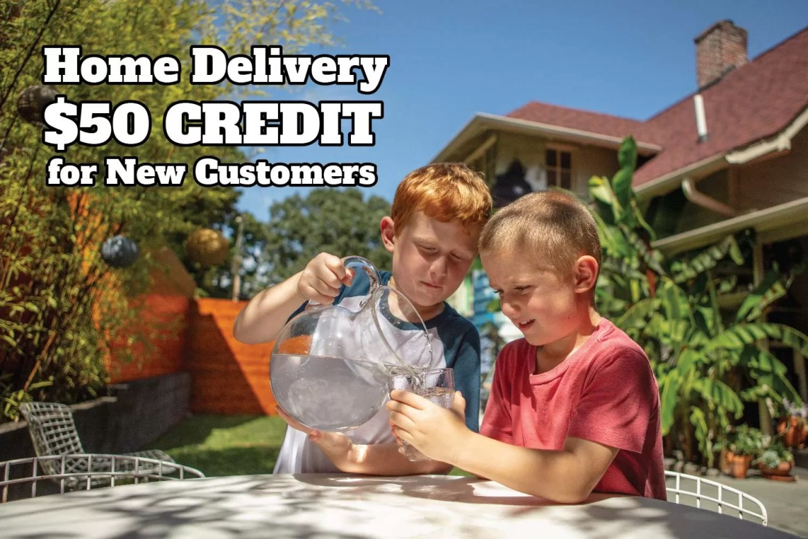 Home Delivery and a $50 credit