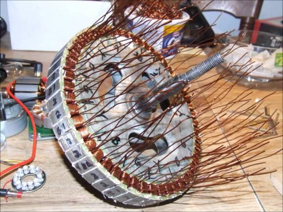 Hub Motor Custom Winding