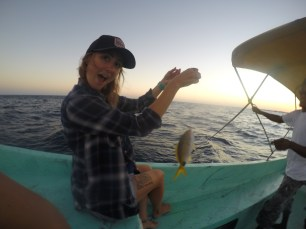 The fish I caught
