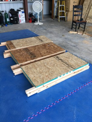 The A frame signs we made for Skydive San Pedro