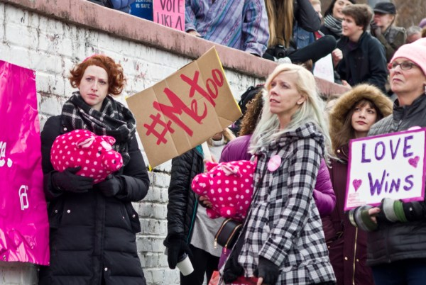Image result for Me too movement and women march
