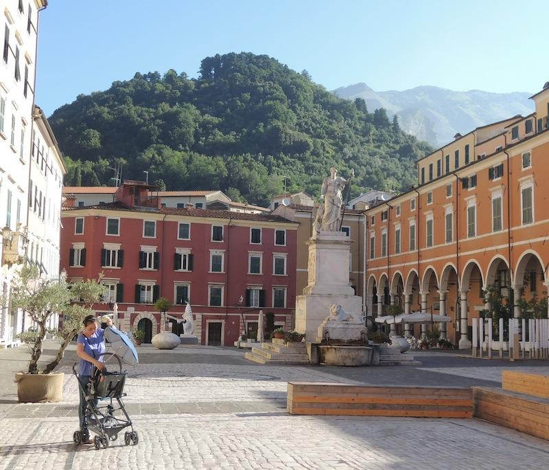 Piazza Alberica a Carrara
