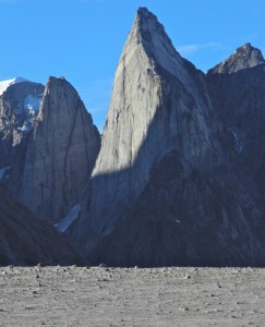 La parete dello Shark's thooth in Groenlandia (arch. Ragni)