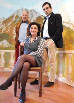 Posani con Boccalatte e Morosini.