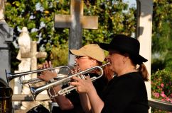 Brass musicians at the 2010 Spring Picnic