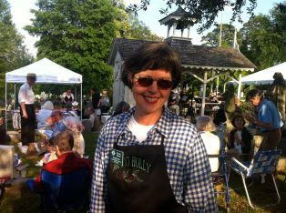 Association member Susan Borné at the 2015 Spring picnic