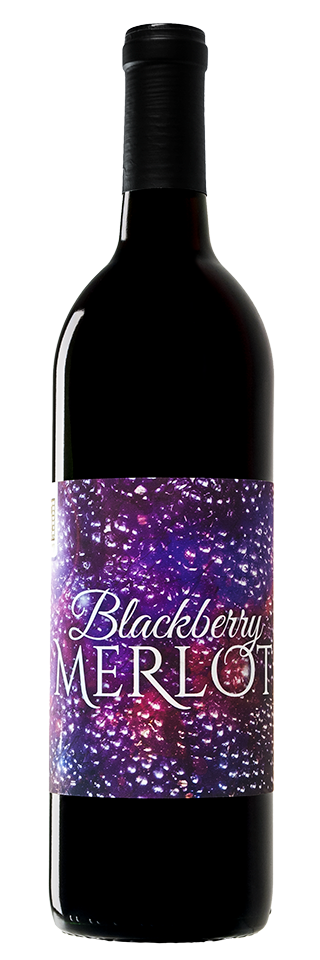 Blackberry Merlot Bottle