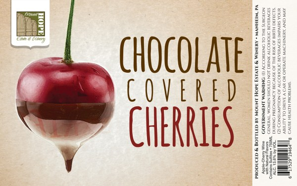 Chocolate Covered Cherries Full Label