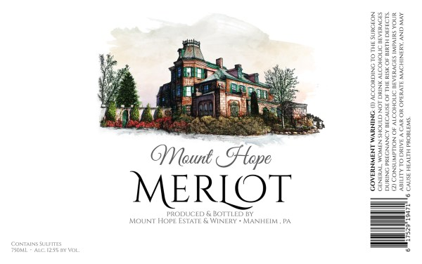 Merlot Full Label
