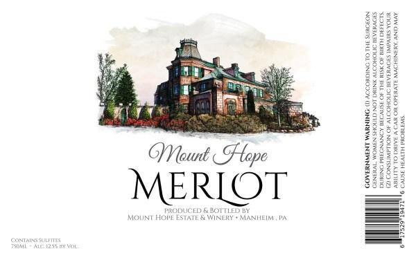 Merlot Full Label