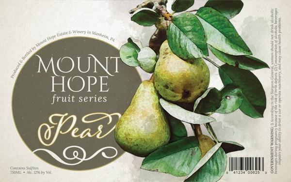 Pear Full Label