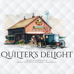 Quilter's Delight Label Icon