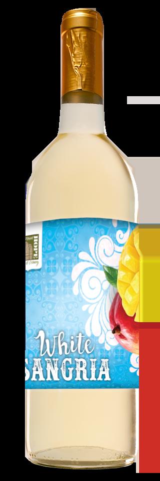 White Sangria Bottle