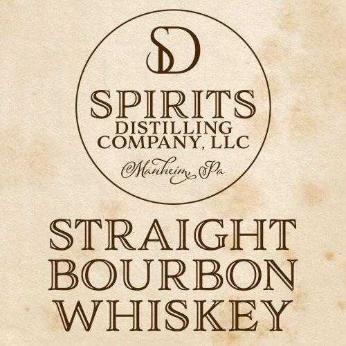 Straight Bourbon Whiskey Icon