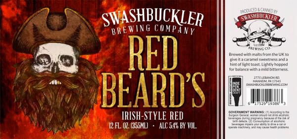 Red Beard's Label