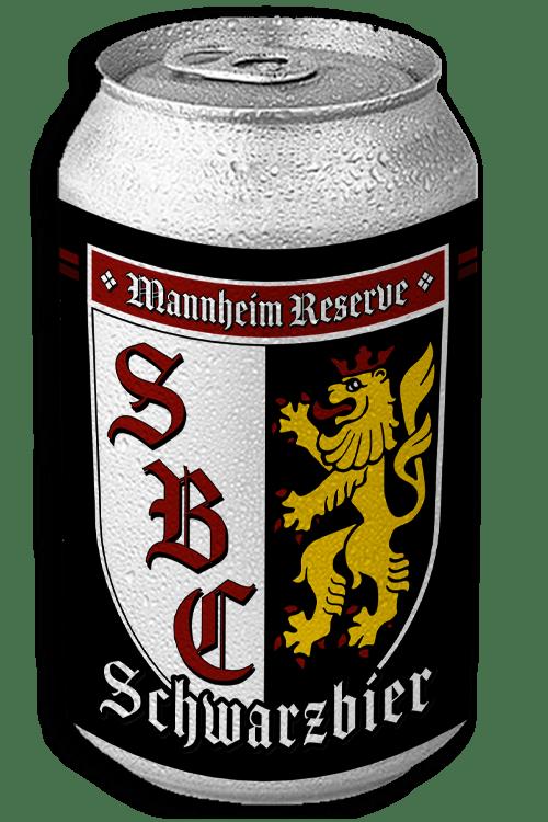 Mannheim Schwarzbier can