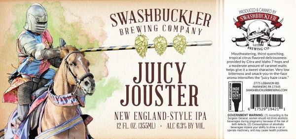 Juicy Jouster Label