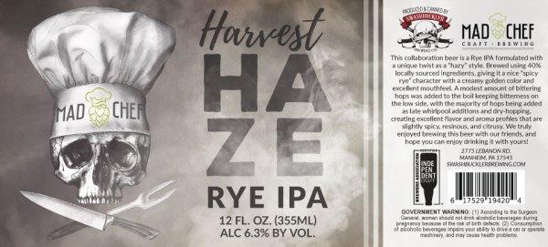 Harvest Haze IPA Label