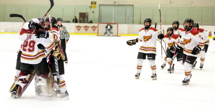 Mounties stun X with late comeback and shootout win