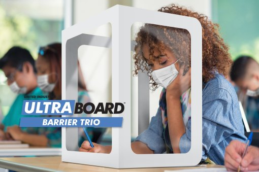 UltraBoard_Barrier_Trio_Covid_Barrier_Aid