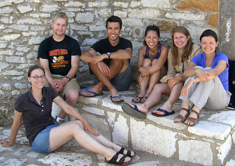 Our architects: (from left to right) Jess Bayuk, Erick Katzenstein, Gabe Burkett, Jenny Hong, Sarah Beth McKay, and Ximena Valle