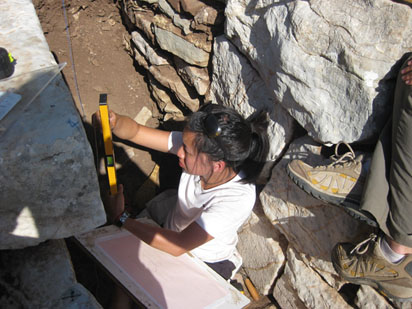 Jenny Hong at work in the fountain house