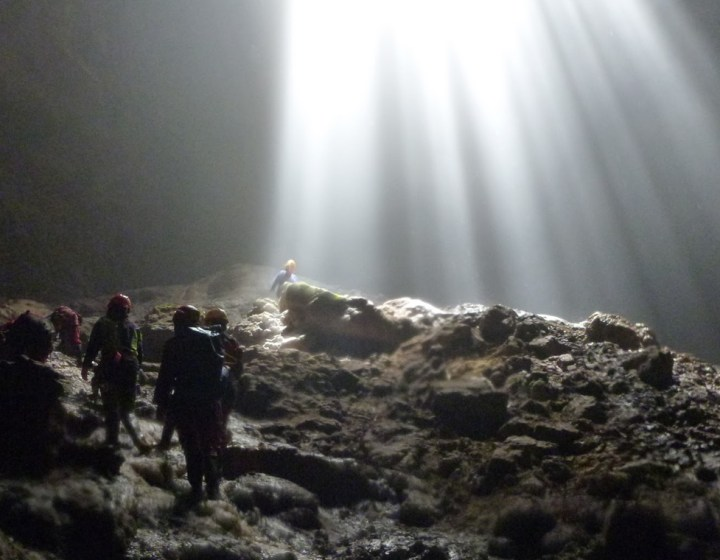 Jomblang Cave Merapi Jeep Sunset