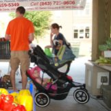 Kids in Strollers Are A Common Sight
