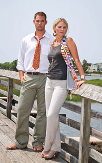 Mount Pleasant Fall Fashion - Chad and Kinsey