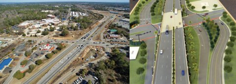 Johnnie Dodds Construction - Bowman Intersection Before/After