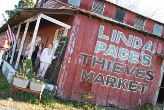 The second location was the ever-popular Page's Thieves Market on Ben Sawyer Boulevard.