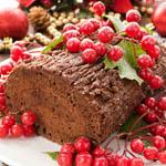 Bûche de Noël (French Christmas Cake)