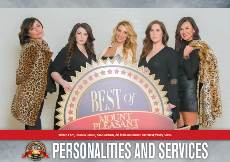 Best of Mount Pleasant 2019 - PERSONALITIES & SERVICES