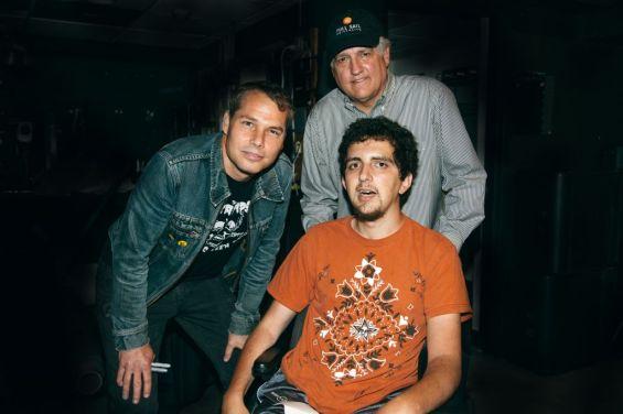 Backstage at Charleston Music Hall Anthony Macchio meets Shepard Fairey