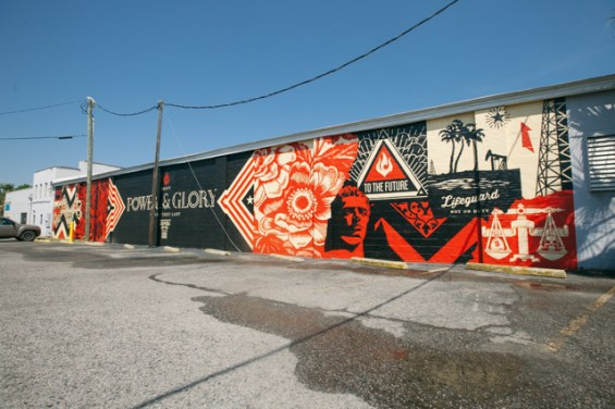 Shepard Fairey is among the world's best-known street artists.