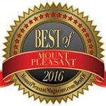 bThe Best of Mount Pleasant 2016 logo