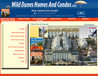 ECON Website: Wild Dunes Homes and Condos