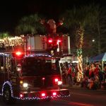 Chariot of Firefighters: Santa Gets a Lift from Mount Pleasant's Heroes