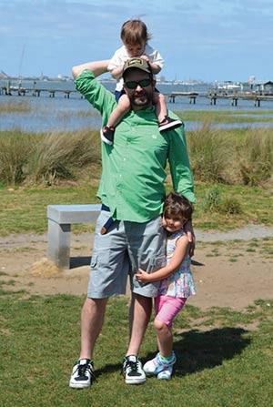 Mount Pleasant's Favorite Dads: CHRIS SIMMONS