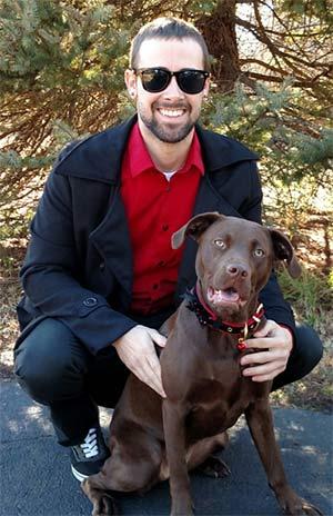 Reesie the Chocolate Lab, Hunter Shaw - Mount Pleasant Pets