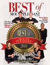 Best of Mount Pleasant 2016 Magazine Cover