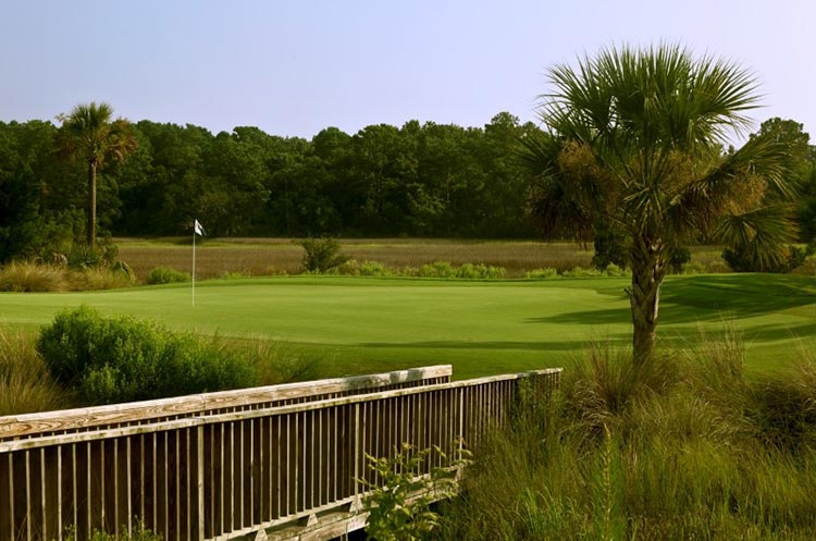 Rivertowne Country Club golf green