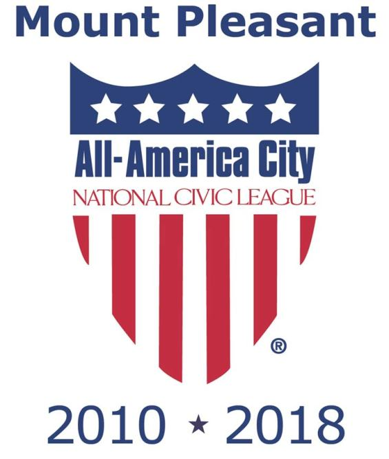 Mount Pleasant, SC, named All-America City, 2010 * 2018