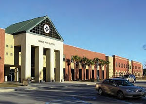 Wando High School located in Mt. Pleasant, South Carolina
