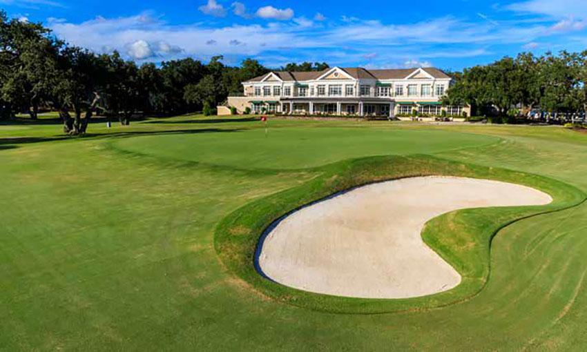 The 18th hole at the Country Club of Charleston. Photo courtesy of USGA/John Mummert.