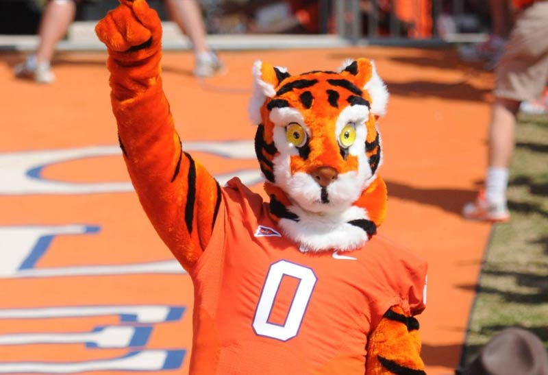 Clemson's Tiger Mascot