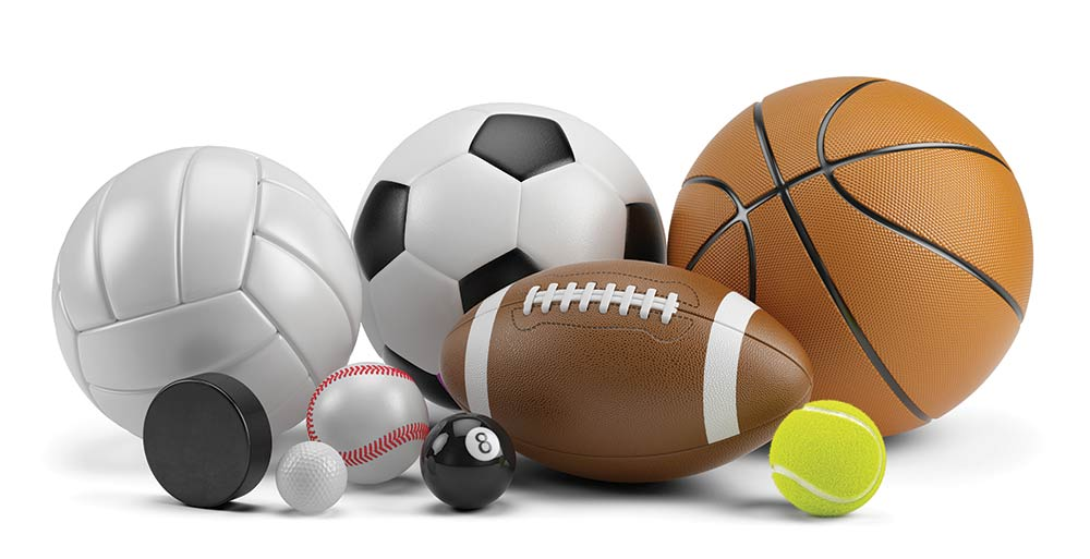 Photo of sports equipment for Statewide Athletic Directors article