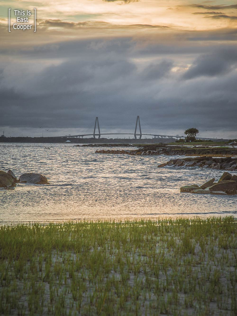 Storm Brewing Over the Ravenel (This is East Cooper)