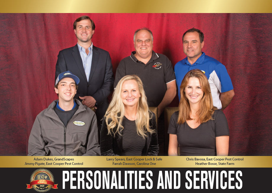 Best of Mount Pleasant 2020 PERSONALITIES and SERVICES