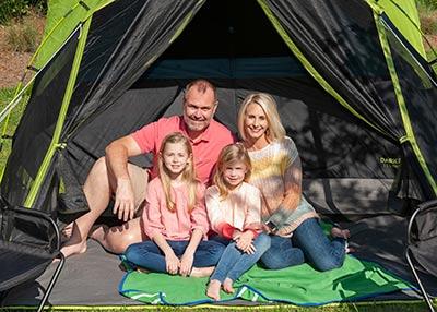 Camping in the backyard. Photo by Juli K.